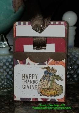 Thanksgiving Dbl Pocket